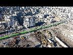 اليمن اليوم- شاهد الحافلات الخضراء رمزًا للتغيير الديموغرافي في سورية