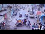 اليمن اليوم- شاهد لقطات مرعبة لبائع يقتل سائق خدش دراجته