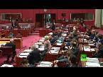 اليمن اليوم- شاهد برلمانية أسترالية يمينية ترتدى البرقع في البرلمان
