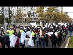 شاهد آلاف المتظاهرين يملأون شوارع سانتياغو في إطار إضراب مفتوح لهيئة التدريس
