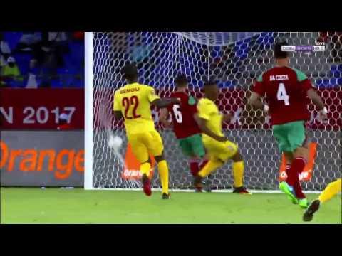اليمن اليوم- شاهد أهداف مباراة منتخبي المغرب وتوغو