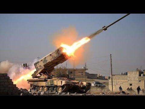اليمن اليوم- شاهد القوات العراقية تحرر مطار الموصل