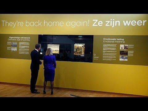 اليمن اليوم- شاهد لوحتان لفان غوغ تعودان إلى المتحف في أمستردام