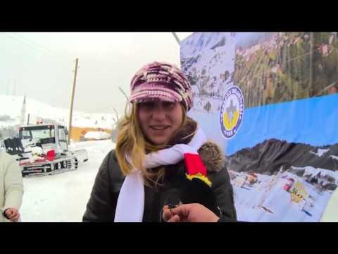 اليمن اليوم- شاهد انطلاق مهرجان سنوي للثلج في شمال تركيا