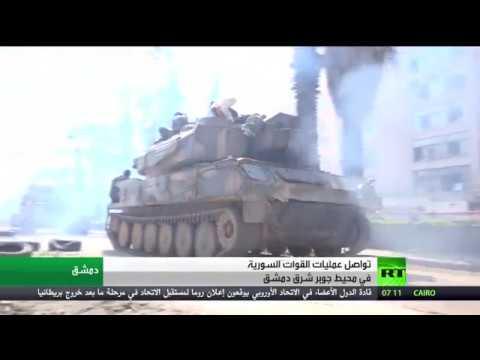 اليمن اليوم- بالفيديو  القوات الحكومية السورية تستعيد قريتين في ريف حماة