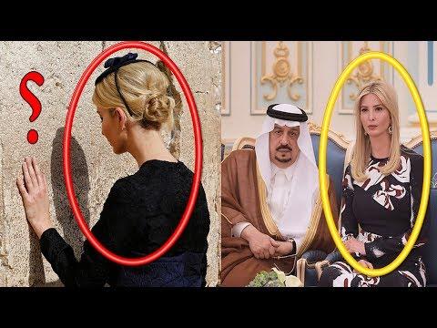 اليمن اليوم- شاهد أسباب ارتداء إيفانكا ترامب لملابس سوداء في الرياض