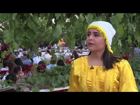 اليمن اليوم- شاهد أربيل تحتضن مهرجان عفرين للتراث والفلكلور