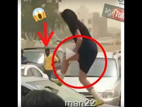 شاهد رقص طالبات في شوارع الكويت