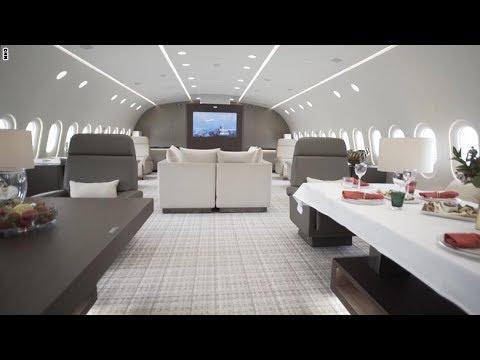 اليمن اليوم- شاهد طائرة الأحلام تكون ملكك بـ74 ألف دولار في الساعة