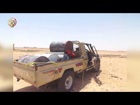 اليمن اليوم- القوات المسلحة المصرية تحبط محاولة إرهابية