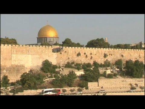 اليمن اليوم- شاهد الفلسطينيون يرفضون البوابات الإلكترونية في القدس