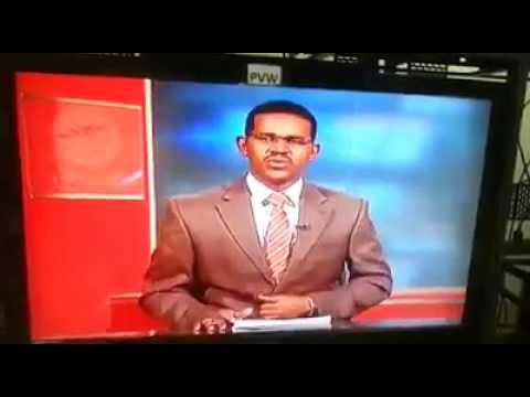 اليمن اليوم- مذيع سوداني يفاجئ المشاهدين في نشرة الأخبار