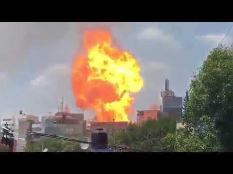 اليمن اليوم- شاهد المشاهد الأولية لهلع المواطنين والدمار في المكسيك