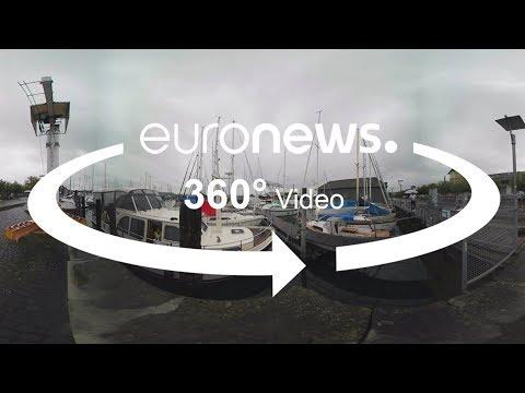 اليمن اليوم- شاهد تراجع الصيد في بحيرة كونستانس في ألمانيا