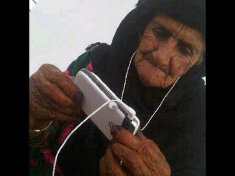 اليمن اليوم- شاهد مساعدات إنسانية لسيدة عجوز