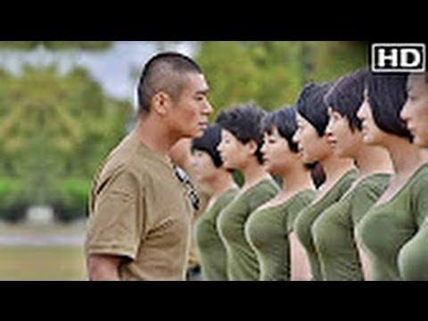 اليمن اليوم- شاهد عرض عسكري خيالي لجيش السيدات الصيني