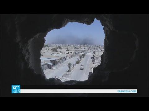 اليمن اليوم- شاهد قوات سورية الديمقراطية تسيطر على 90 في المائة من الرقة