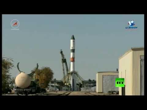 اليمن اليوم- شاهد لحظة إطلاق شاحنة روسية إلى المحطة الفضائية الدولية