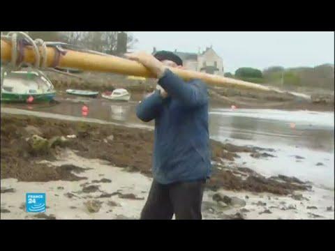 اليمن اليوم- شاهد إعصار يهدّد إيرلندا