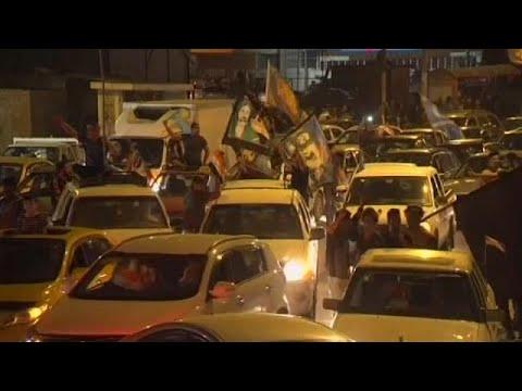اليمن اليوم- شاهد احتفالات في كركوك عقب سيطرة القوات العراقية على المدينة