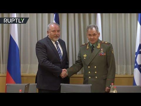 اليمن اليوم- وزير الدفاع الروسي سيرغي شويغو يلتقي نظيره الإسرائيلي في القدس