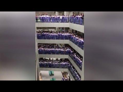 الآلاف من الطلاب في الصين يحتفلون بالـsingles day