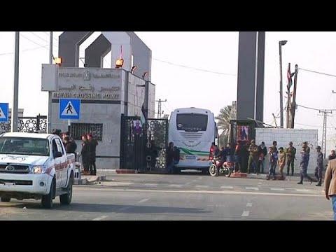 مصر تفتح الحدود مع غزة