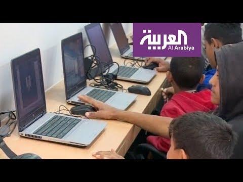 مختبر حاسوب متنقل في فلسطين لنقل المعرفة للمضارب البدوية