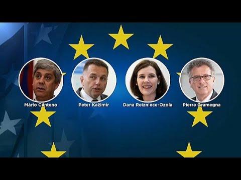 دانا ريزنيس اوزولا من لاتفيا أبرز المرشّحين لرئاسة مجموعة اليورو