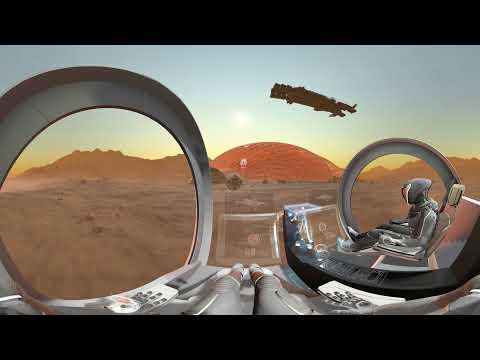 شاهد شكل الحياة على كوكب المريخ بعد 100 عام