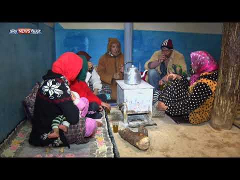 شاهد تعليق الدراسة في المغرب بسبب الثلوج