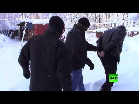 شاهد  الأمن الروسي يفكك شبكة منظمة لإنتاج المخدرات الصناعية