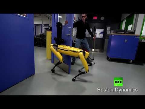شاهد محاولات فاشلة لهروب روبوت