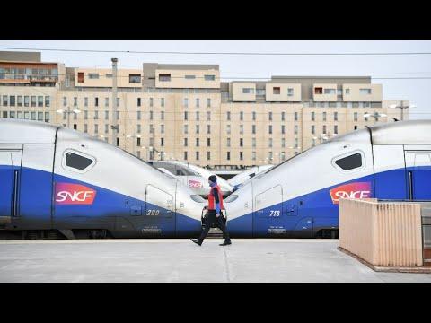 خسارة شركة السكك الحديدية في فرنسا بسبب الإضراب