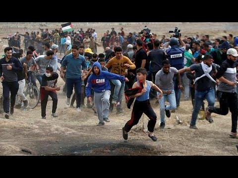 مقتل فلسطينيين خلال تجدد المظاهرات على حدود غزة