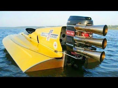 أغرب أنواع القوارب