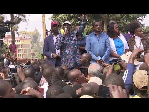أودينغا يتهم الرئيس الكيني بـسرقة الانتخابات