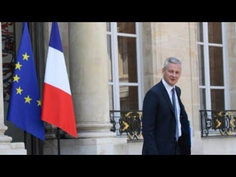 شاهد وزير الاقتصاد الإيطالي يلغي لقاء مع نظيره الفرنسي