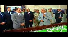 الرئيس السيسي يفتتح قناطر أسيوط الجديدة رسميًا