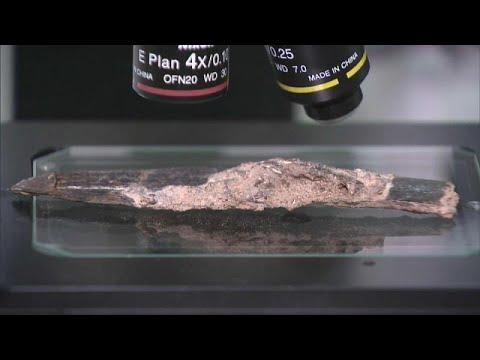 شاهدالعثور على سكين في المغرب يعود تاريخه إلى 90 ألف سنة