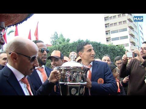 شاهد مشجعو نهضة بركان يحتفلون بعد تتويج الفريق باللقب على حساب وداد فاس