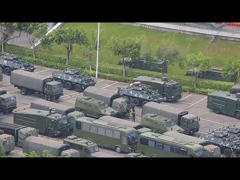 القوات المسلحة الصينية تستكمل عمليات انتشارها عند حدود هونغ كونغ