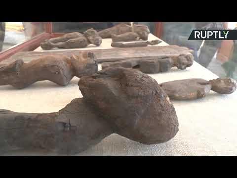 شاهد مصر تبلغ سفراء 40 بلدًا عن اكتشاف أثري