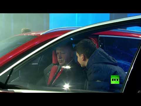 رجب طيب أردوغان يدشن أول سيارة كهربائية تركية