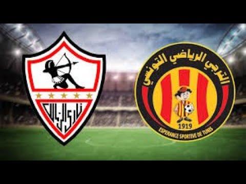 شاهد بث مباشر مباراة الزمالك  المصري والترجي التونسي