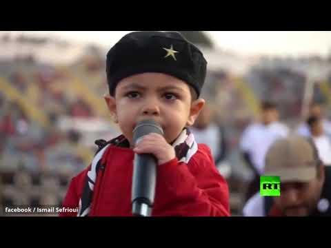 أصغر كابو ودادي يلهب المدرجات ويثير إعجاب الجمهور