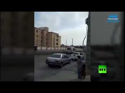 شاهد سيارات الإسعاف في تشابهار الإيرانية تعلن فرض حجر صحي على المدينة