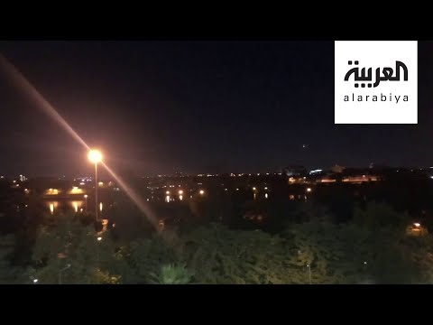 شاهد إحباط هجوم صاروخي على السفارة الأميركية في بغداد