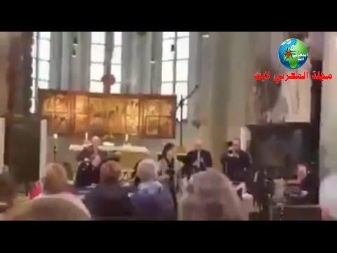 اليمن اليوم- شاهد مسيحيون ينشدون طلع البدر علينا