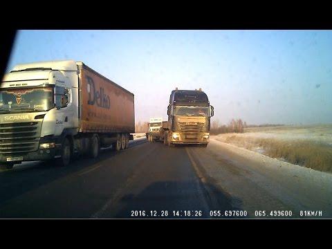 اليمن اليوم- بالفيديو شاهد كيف أفلتت سائقة روسية من الموت المؤكّد